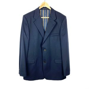 Men's Hart Schaffer Marx Suit Jacket Blaze…